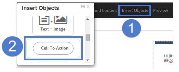 How do i use the call to action feature powered by kayako once you place the call to action button the customization menu will appear you can access this menu at any time by clicking on the button pronofoot35fo Choice Image